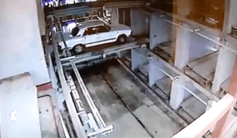 Стеллажный паркинг. Механические парковки.