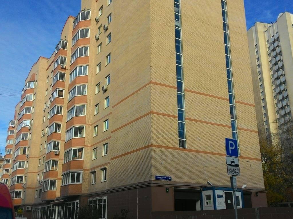 Высотная парковка. Москва. Климашкина 10