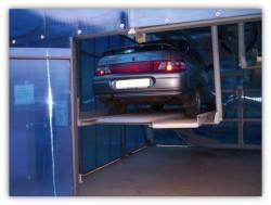 Механизированная парковка роторного типа