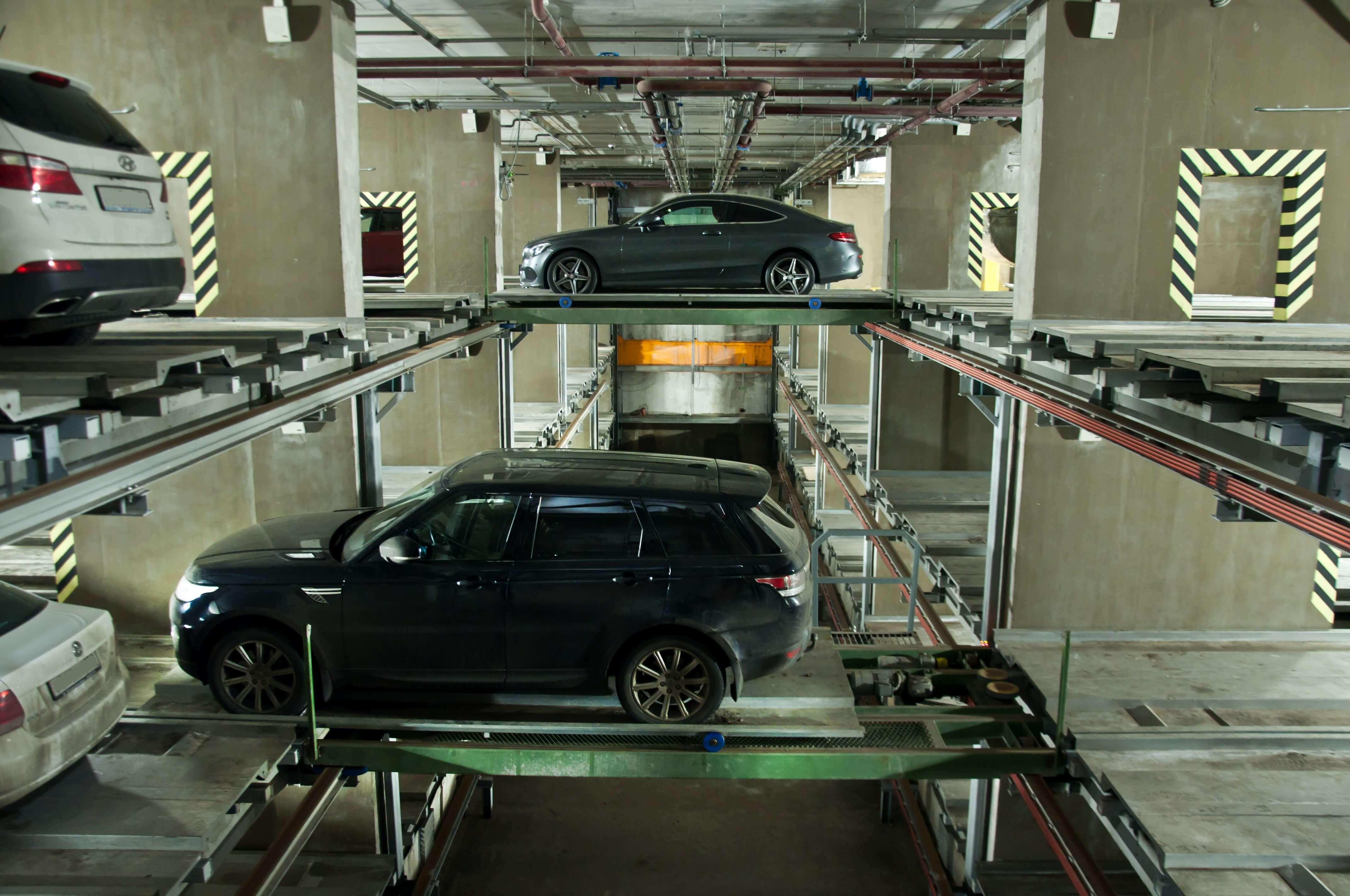Стеллажная парковка