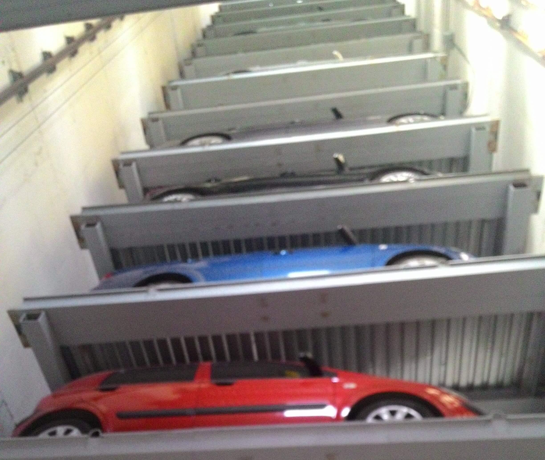 Механические парковки. Башенный паркинг.