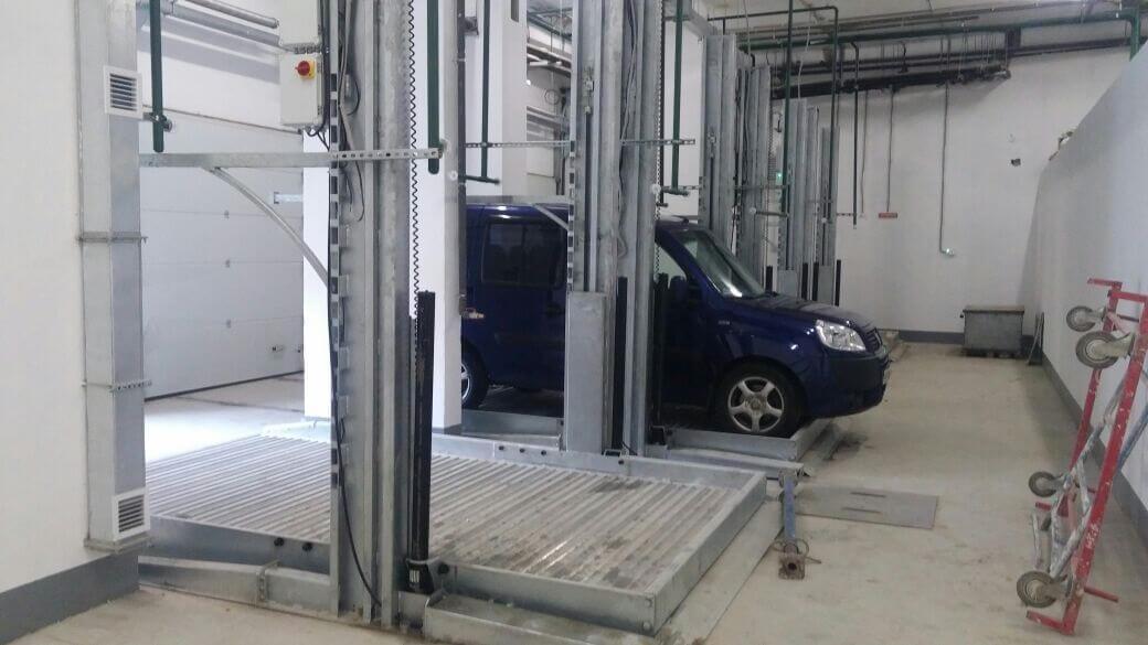 Зависимые парковки