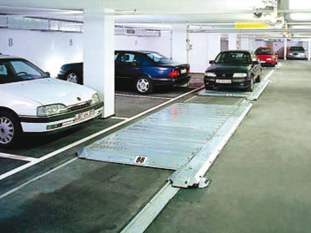 Механические парковки. Вспомогательное оборудование.