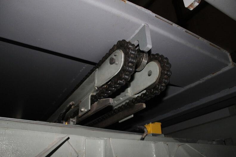 Автоматизированная парковка МАС-М72. Механизм захвата поддона.