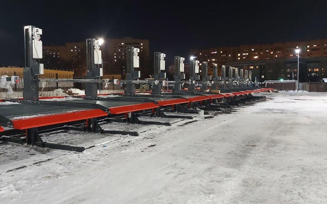 Парковки подъёмники в Казани.