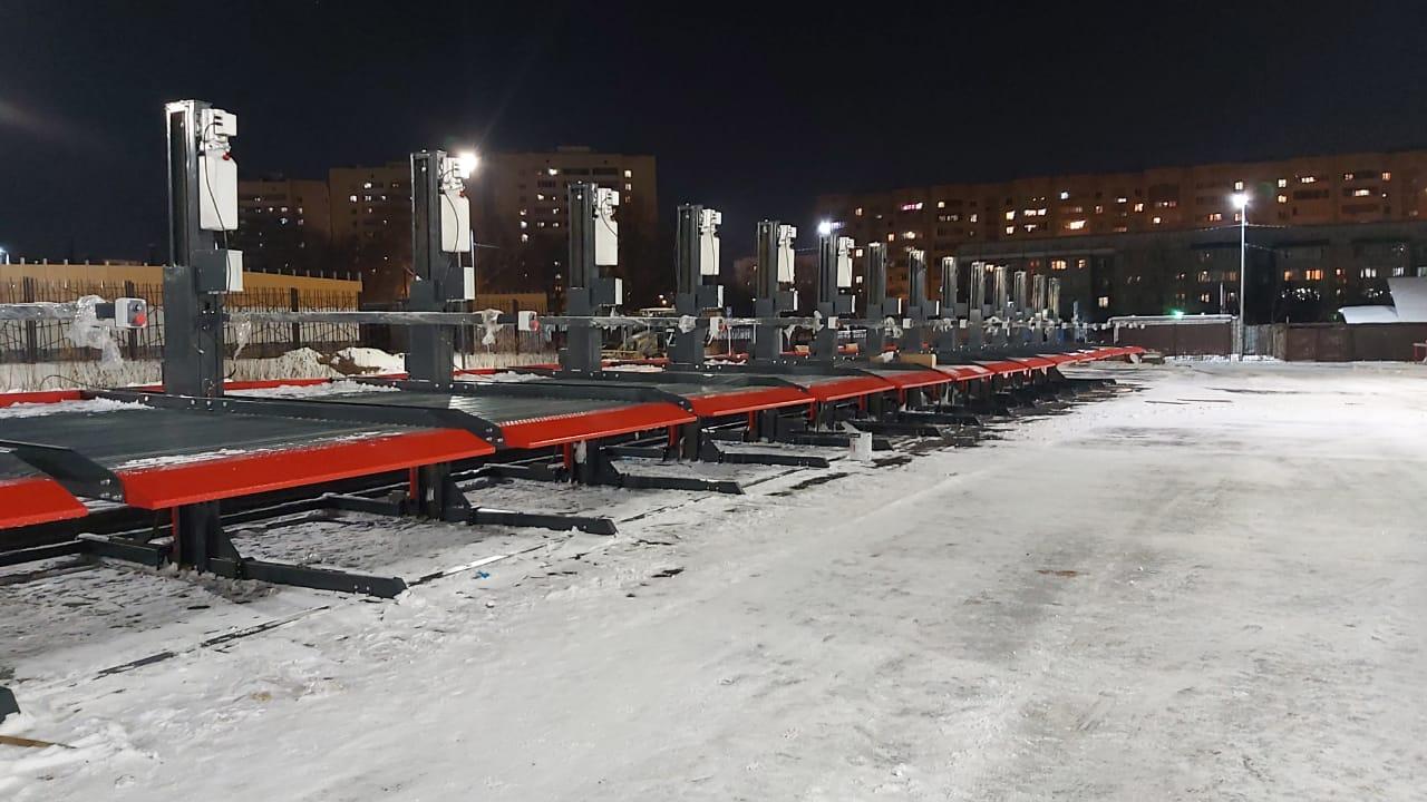 Парковочные подъёмники